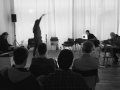 Quartett with Michael Fischer, Clemens Hausch and Joao Castro Pinto @ Smallforms, Vienna, 2017