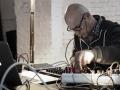 Knurrhahn aka Reni Weichselbaum & Bernhard Loibner live @ smallforms, Vienna