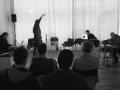 Quartett with Michael Fischer, Clemens Hausch and Joao Castro Pinto @ Smallforms, Vienna, 2017