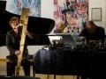 Duo with Reni Weichselbaum @ Art18, Amadeus School Vienna, 2017