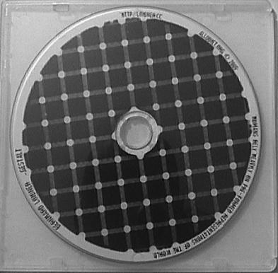 photo of the gestalt CD package